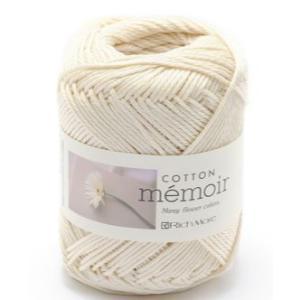 スタンダードな綿糸、全ての作品に対応出来ます。 綿   100% 40g  85m 棒針  5〜6号...
