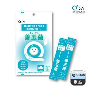 キューサイ 善玉菌(1g×14包) [ 有胞子性乳酸菌 粉末タイプ ]|kyusai-kantou