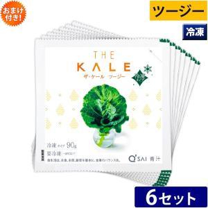 キューサイ 青汁 繊維青汁 ツージー 冷凍タイプ (90g×7パック/セット)6セット kyusaikenko