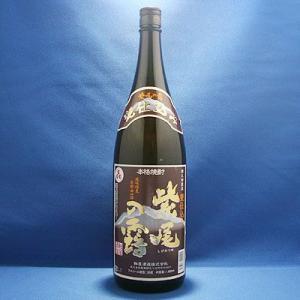 甕仕込み 紫尾の露 1800ml(軸屋酒造)  北薩摩の名峰といわれる紫尾山の山懐にある軸屋酒造が、...