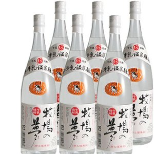 牛乳焼酎 牧場の夢25度1800ml瓶1ケース(6本)...