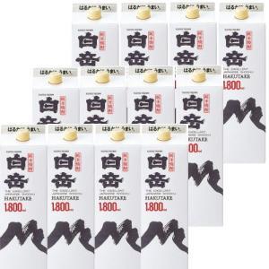 純米焼酎 白岳25度1800mlパック2ケース(12本)|kyusyusake