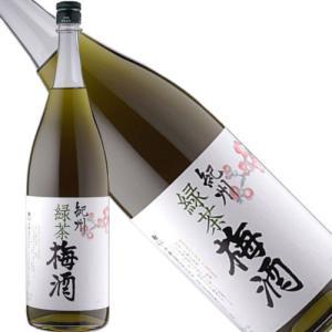 中野BC 紀州 緑茶梅酒12度1800ml|kyusyusake