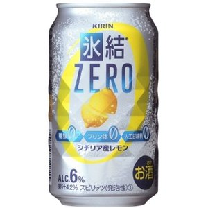 キリン 氷結ZERO(レモン)350ml缶1ケース(24本入)|kyusyusake