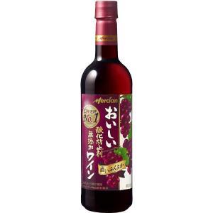 メルシャンおいしい酸化防止剤無添加赤ワインふくよか720ml kyusyusake