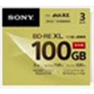 ソニー 2速BD-RE XL 3枚パック 100GB ホワイトプリンタブル 3BNE3VCPS2