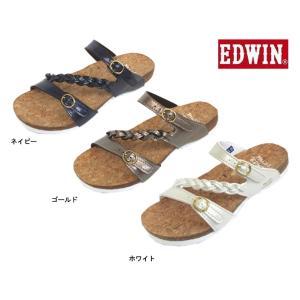 (EDWIN)エドウイン EW9456 婦人サンダル (ダイマツ)22-25cm|kyuta-shop