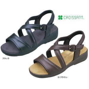 クロワッサン CR4591 婦人バックバンドサンダル(日本製)(ダイマツ)|kyuta-shop