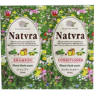 Natvra(ナチュラ) ヘアケア ノンシリコン 1dayトライアルセット 10+10mL|kyuusansyoukai