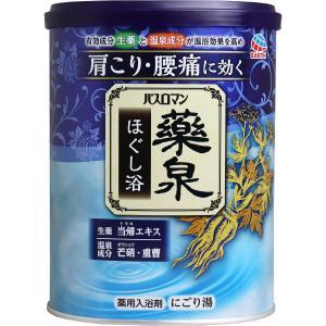 バスロマン 薬泉 ほぐし浴 薬用入浴剤 にごり湯 750g|kyuusansyoukai