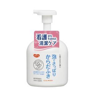 ハビナース 泡でさっぱりからだふき グリーンフローラルの香り 500mL kyuusansyoukai