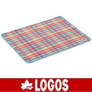 LOGOS ロゴス オックス防水シート・ソロ 73×95cm(レッドチェック)(防水シート/キャンプ/バーベキュー/BBQ/アウトドア/71809621)|kyuzo-outdoor