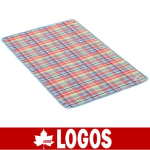 LOGOS ロゴス オックス防水シート・ワイドペア 145×90(レッドチェック)(防水シート/キャンプ/バーベキュー/BBQ/アウトドア/71809624)|kyuzo-outdoor