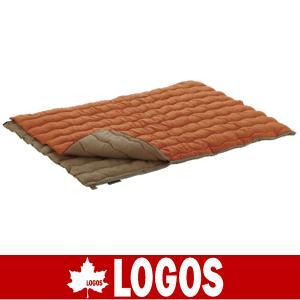 LOGOS ロゴス シュラフ 寝袋 寝ぶくろ ねぶくろ 2in1・Wサイズ丸洗い寝袋・2|kyuzo-outdoor