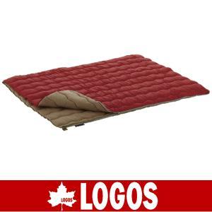LOGOS ロゴス シュラフ 寝袋 寝ぶくろ ねぶくろ 2in1・Wサイズ丸洗い寝袋・0|kyuzo-outdoor