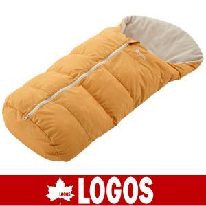 LOGOS ロゴス ニュー丸洗いベビーカーシュラフ(オレンジ)(寝袋/スリーピングバッグ/スリーピングバック/赤ちゃん用/あかちゃん用/72600802)|kyuzo-outdoor