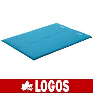 LOGOS ロゴス (超厚)セルフインフレートマット・DUO(エアマット/車内用/ハイキング/登山/山登り/アウトドア/72884140)|kyuzo-outdoor