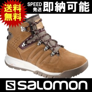 SALOMON サロモン スノーブーツ ウィンターブーツ ウィンターシューズ SALOMON UTILITY TS CS WP ユーティリティ TS クライマシールド ウォータープルーフ|kyuzo-outdoor