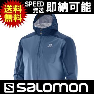 SALOMON サロモン トレイルランニング トレラン ジャケット SALOMON BONATTI WP JKT M サロモン ボナッティ ウォータープルーフ ジャケット メンズ|kyuzo-outdoor