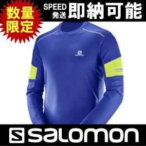 SALOMON サロモン AGILE LS TEE M アジャイル ロングスリーブティーシャツ トレイルランニング トレラン メンズ 男性用 L39716300|kyuzo-outdoor