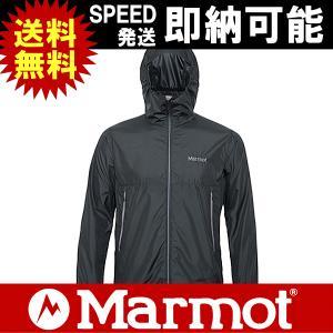 Marmot マーモット シェルジャケット コンフィーシェルジャケット COMFY SHELL JACKET 男性用 メンズ MJJ-F7013 BLK|kyuzo-outdoor