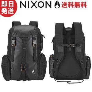 NIXON ニクソン リュック WATERLOCK III BACKPACK NC28121148-00 ALL BLACK NYLON ブラック 日本正規品|kyuzo-outdoor