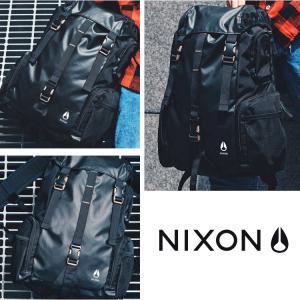 NIXON ニクソン リュック WATERLOCK III BACKPACK NC28121148-00 ALL BLACK NYLON ブラック 日本正規品|kyuzo-outdoor|03