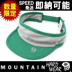 トレラン バイザー 日焼け mountain hardwear MHWRunningVisor マウンテンハードウェア MHWランニングバイザー(OE0899 374)|kyuzo-outdoor
