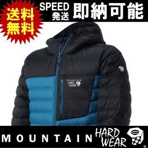 Mountain Hardwear マウンテンハードウェア ダウンジャケット Dynotherm Hooded Down Jacket|kyuzo-outdoor