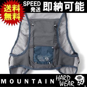 トレラン ザック 3リットル mountain hardwear SingleTrackRaceVest マウンテンハードウェア シングルトラックレースベスト(OU0459 492)|kyuzo-outdoor