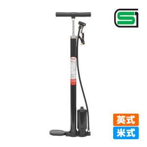 PALMY H-212SG 自転車用高圧ポンプ タンク付|kyuzo-shop