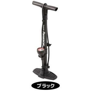 自転車空気入れ ゲージ付きフロアポンプ pan...の詳細画像1