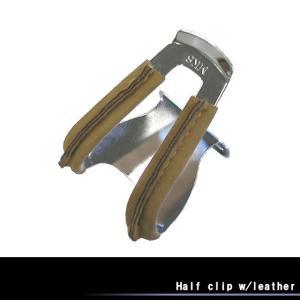 三ヶ島製作所Half clip w/leather