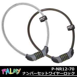 PALMYP-NR12-70ナンバーセットワイヤーロック|kyuzo-shop