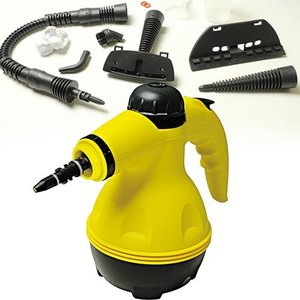 【高圧洗浄機 掃除用品】3気圧 100℃高圧蒸気洗浄 ハンディスチームクリーナー (B048)