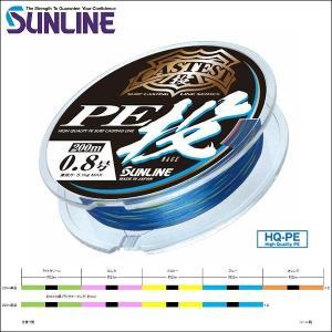 サンライン CASTEST PE投 (キャステスト PE投げ) 0.6号 250m 5色分け 国産 日本製 道糸 投げ用 PEライン