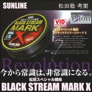 サンライン ブラックストリームマークX 10号 200m 松...