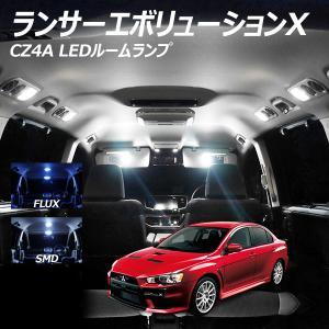 ランエボX用 LED ルームランプ+T10 6点計78発 保証|l-c