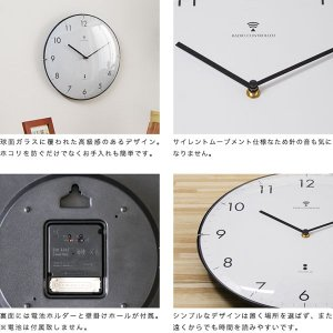 掛け時計 掛時計 掛け時計 電波時計 壁掛け時...の詳細画像3