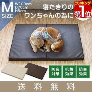 ペット 床ずれ 防止 クッション ペット用 床ずれ防止マットレス Mサイズ 100 x 70 x 5cm 介護マット ケアマット マット ペットベッド 犬 猫 シニア 送料無料|l-design