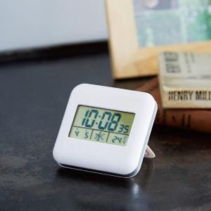 デジタル電波置き時計(最低ロット数60個) ...