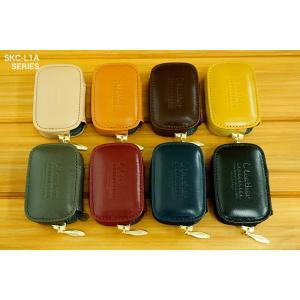 スマートキーケース 本革 レクサス L1タイプ ボタンA|l-leather