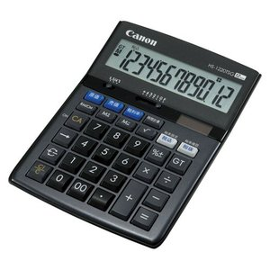 AC-00010023 キヤノン 電卓 商売計算シリーズ 12桁 HS-1220TSG|l-nana