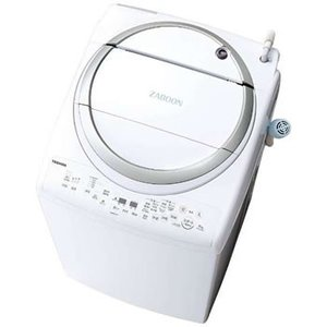 AW-8V6-S 東芝 洗濯8.0kg・乾燥4.5kg タテ型洗濯乾燥機 ZABOON|l-nana