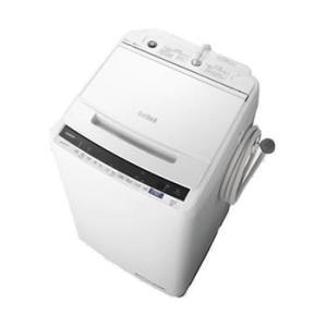 BW-V80E-W 日立 8kg 全自動洗濯機 ビートウォッシュ ホワイト l-nana