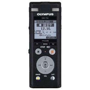DM-750-BLK オリンパス ICレコーダー Voice-Trek(ボイストレック)|l-nana