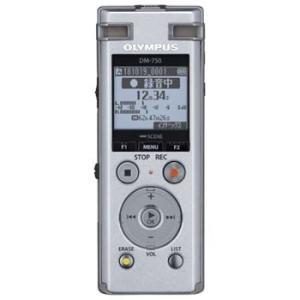 オリンパス DM-750-SLV ICレコーダー Voice-Trek