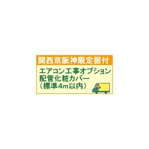 ea-option1配達設置【関西京阪神地区限定】配管化粧カバー(標準4m以内)|l-nana