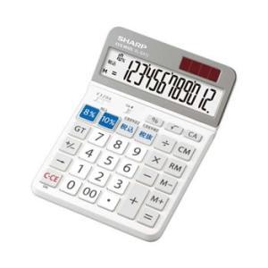 EL-SA72X シャープ 実務電卓 軽減税率対応モデル 12桁 (EL-SA72-X)|l-nana