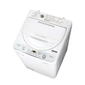 ES-GE5C-W シャープ 5.5kg 全自動洗濯機 (ホワイト系) l-nana
